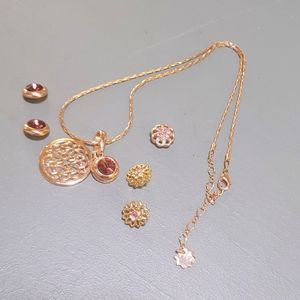 Magnolia and Vine Rose Gold Jewelry